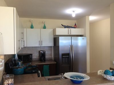 Fully equipped kitchen, ss appliances