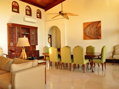 Playa Hermosa villa rental - Indoor Dining as Option