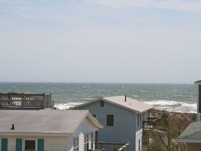 Ocean view from front covered deck