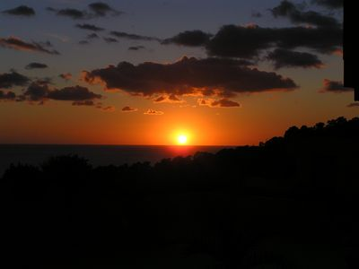 Sunset at Cala Vadella
