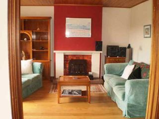 County Sligo house photo - Family room with inset stove