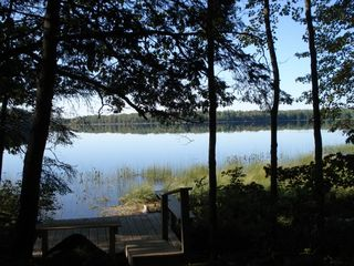 Great Pond at Sunrise - Franklin cabin vacation rental photo