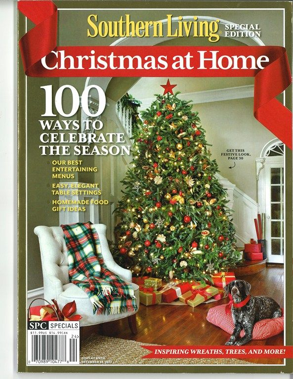 Our foyer was chosen to be on the cover of the Southern Living Special Edition.