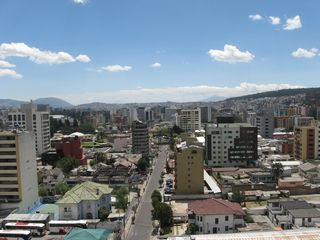 Quito apartment photo - City view from the terrace, Quito - Ecuador