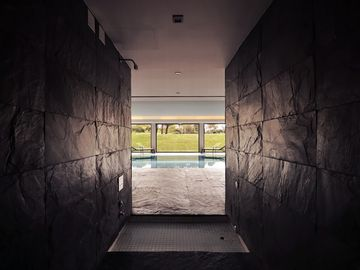 Another Perspective over the Indoor Pool