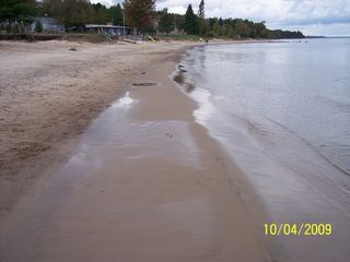 Port Sanilac cottage photo - Our ever changing beach