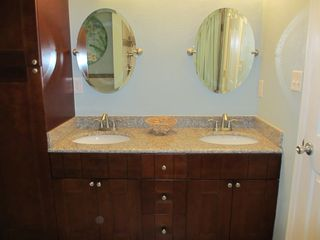 Virginia Beach house photo - Master Bathroom Double Sink