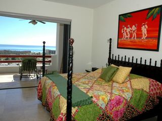 San Jose del Cabo condo photo - All 4 BRs have pvt baths, HDTVs, sea views & sumptous mattresses.