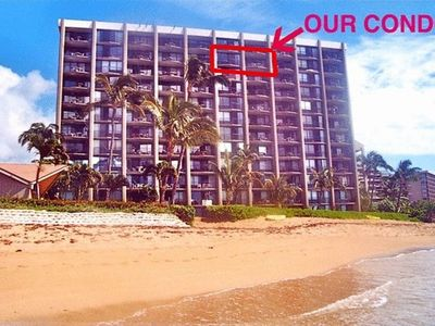 World Famous Kahana Beach Is Steps Away from the 11th Floor Condo