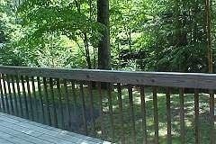 Dillsboro cabin photo - Summer View Front Deck