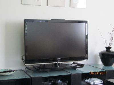 Blue Ray DVD with Big screen TV