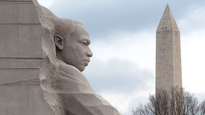 The new Martin Luther King Jr. Memorial