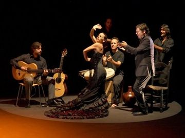 Flamenco shows are available nearby