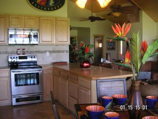 Kihei house photo - Kitchen area within the great room