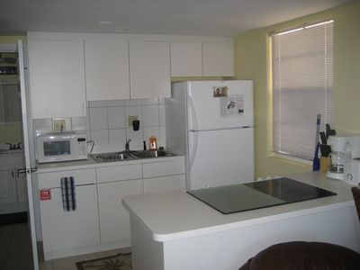 Fully Equipped Downstairs Kitchen in Unit #3