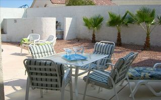 Las Vegas house photo - Large private backyard, great for families