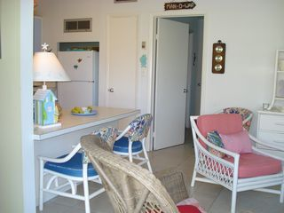 Treasure Cay villa photo - .Den and Kitchen combo