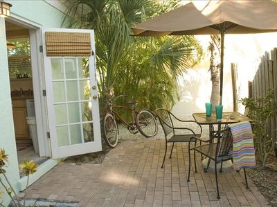 have your coffee on this porch- sit in the morning sun to start your day