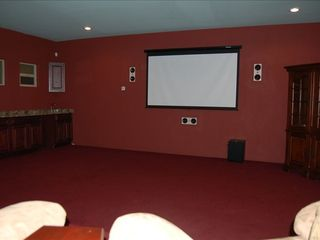 Albuquerque house photo - Movie theatre room, 4 loungers are behind