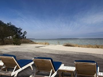 Southampton cottage rental - Relax on the Deck