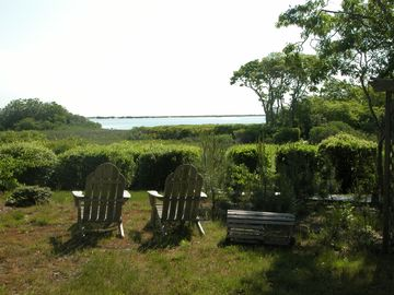 Edgartown house rental - Lovely view of Sengekontacket and Nantucket Sound