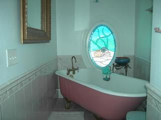 Margate house photo - Bathroom with tub (Note Shower also in Bedroom)