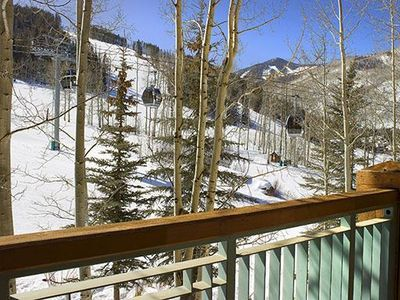 Beaver Creek condo rental - View from balcony