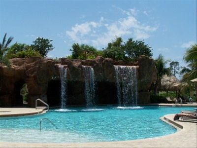 Players Club and Spa Waterfall