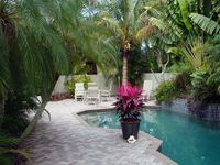 Pool home with walk to Lido Beach & St. Armands!