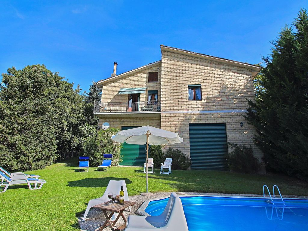 Detached House With Private Swimming Pool With Panoramic