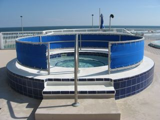 Daytona Beach condo photo - Relax in the Oceanfront Hot Tub