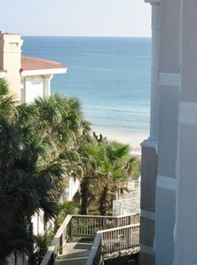 Blue Mountain Beach condo rental - the view from unit balcony