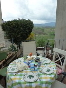 Lovely Medieval Townhouse between Rome and Florence with exceptional views