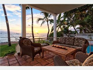 Lahaina villa photo - Oceanfront
