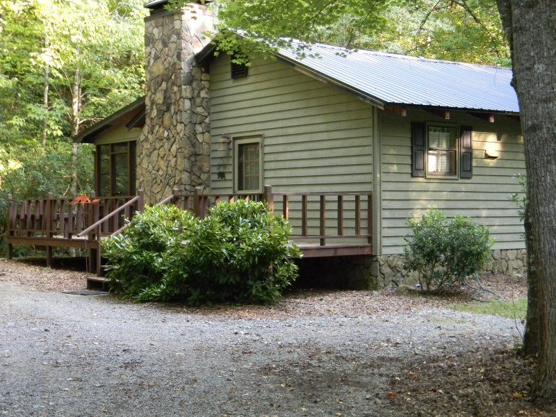 Mountain Rest Cabin With Rushing Creek Vrbo