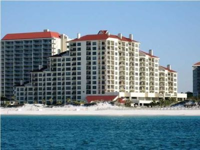 Tops'l Beach Manor From The Gulf Of Mexico