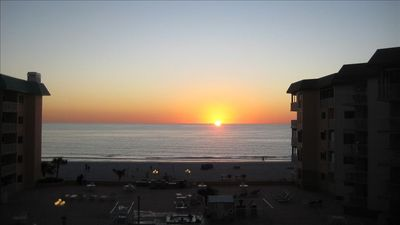 Indian Shores condo rental - Beautiful Sunset From Balcony