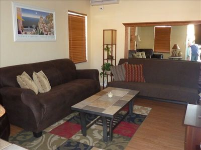 Living room -- all new furniture