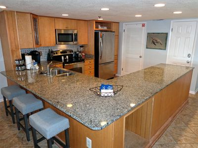 Gulf Front Spacious 2BR/2BA~Remodeled Kitchen/Baths~Beach Setup Included!