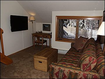 Family Room with pullout couch