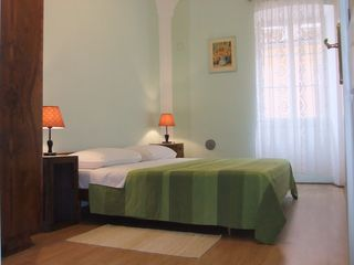 Rovinj City apartment photo - Bedroom 2 - King size bed, nice view on the old street Svalba
