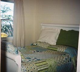 Muskegon cottage photo - Lakeside Bedroom - with a view
