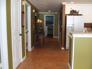 Pensacola Beach condo photo - Hallway leading to 3rd BR quietly hidden in the back