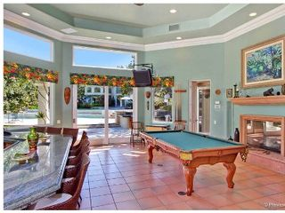 Rancho Santa Fe estate photo - Separate Game/Pool house includes bar, 2 bath, pool, Foosball, air hockey, etc.