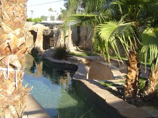 Palm Springs villa photo - The beginning of the river.