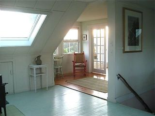 Monhegan Island house photo - upstairs sitting room
