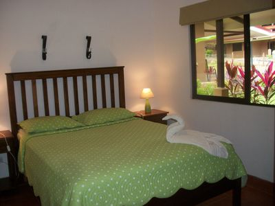 One of our 2 comfortable bedrooms.