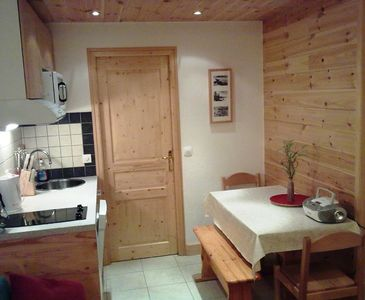 Tignes Val Claret apartment rental - Flat 24 Kitchen Diner