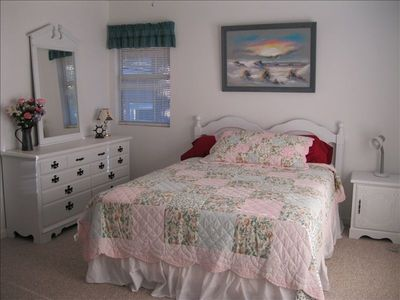 Master Downstairs with Queen Bed and Private Full Bath