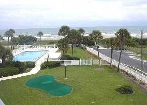 Cocoa Beach condo photo - View from Balcony